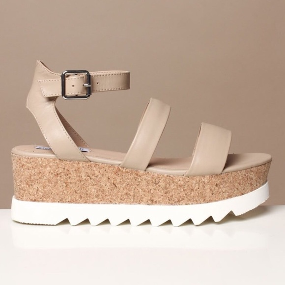 Steve Madden Kirsten Platform Sandals 8